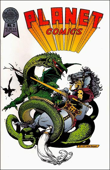 Planet Comics (1980) 2-A by Blackthorne