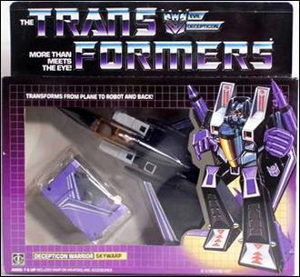 Transformers: More Than Meets the Eye (Generation 1) Skywarp (Decepticon Warrior) by Hasbro