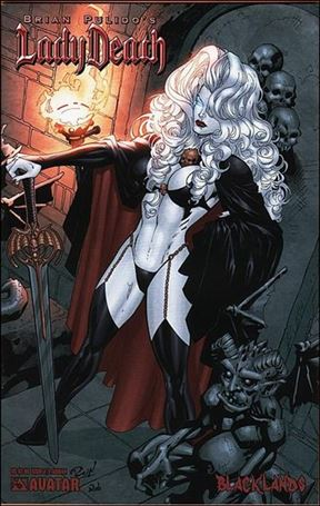 Brian Pulido's Lady Death: Blacklands 1/2-B