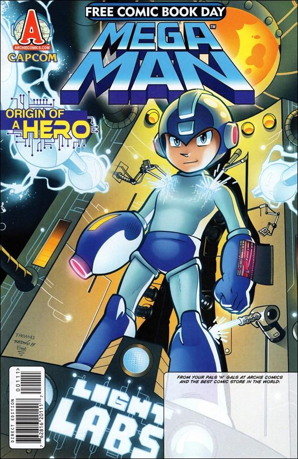 Mega Man 1-C by Archie