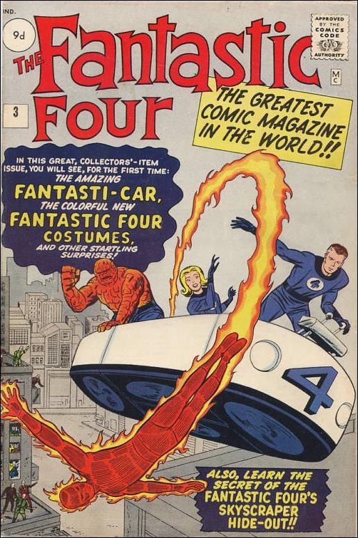 Fantastic Four (1961) 3-B by Marvel