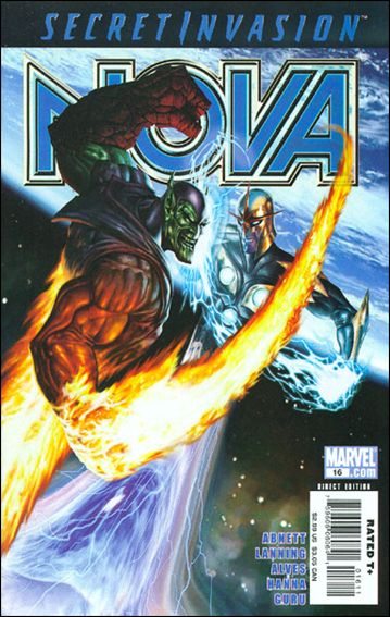 Nova (2007) 16-A by Marvel