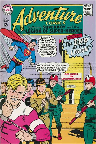 Adventure Comics (1938) 359-A by DC