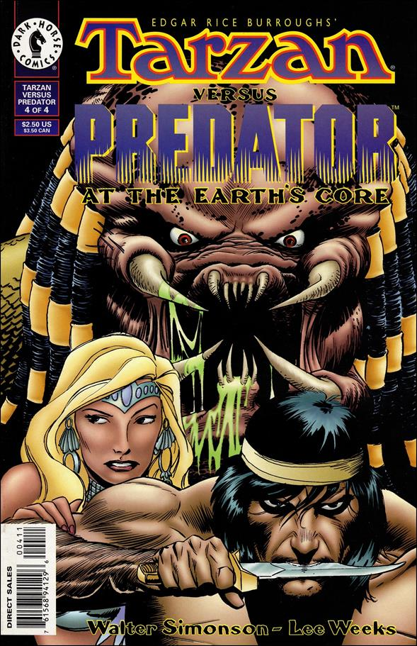 Tarzan vs Predator at the Earth's Core 4-A by Dark Horse