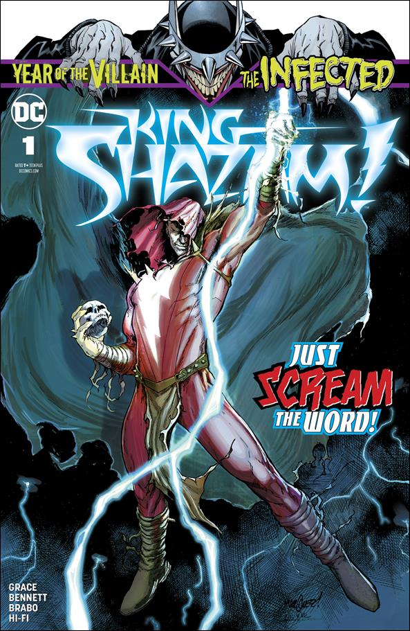King Shazam 1-A by DC
