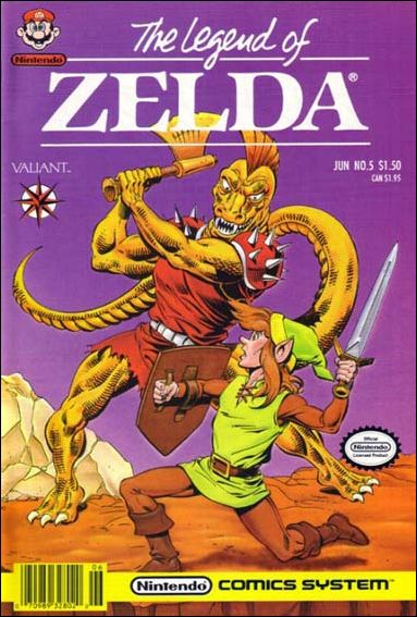 Legend of Zelda 5-A by Valiant
