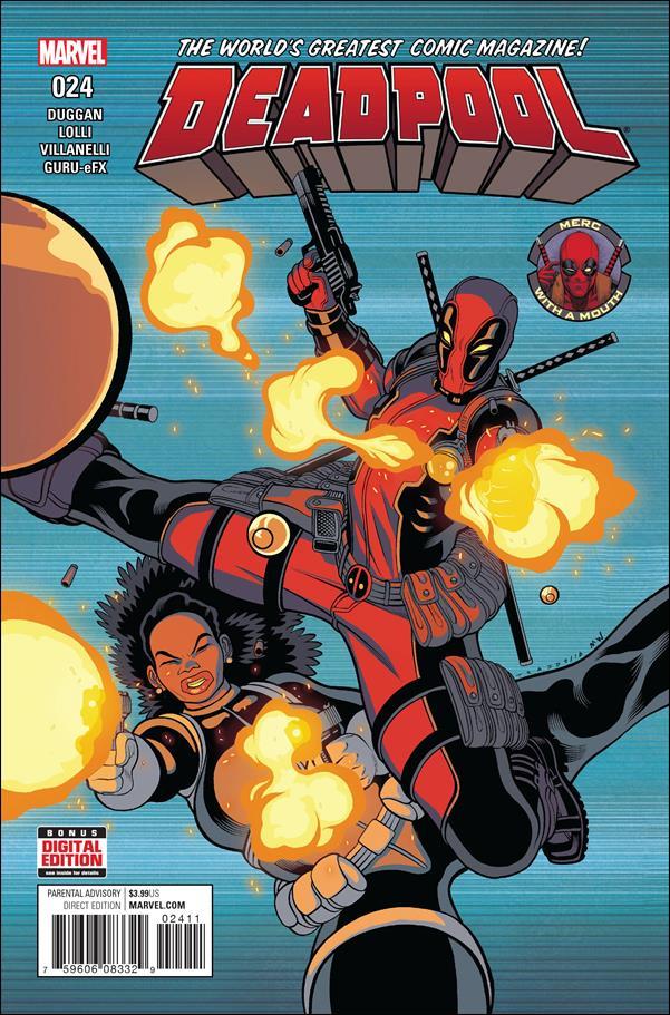 Deadpool (2016) 24-A by Marvel