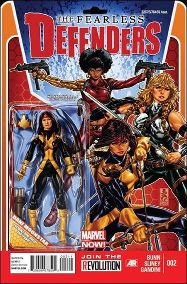 Fearless Defenders 2-A by Marvel