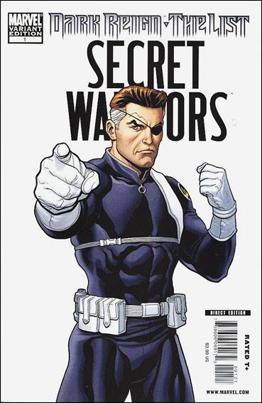 Dark Reign: The List - Secret Warriors 1-B by Marvel