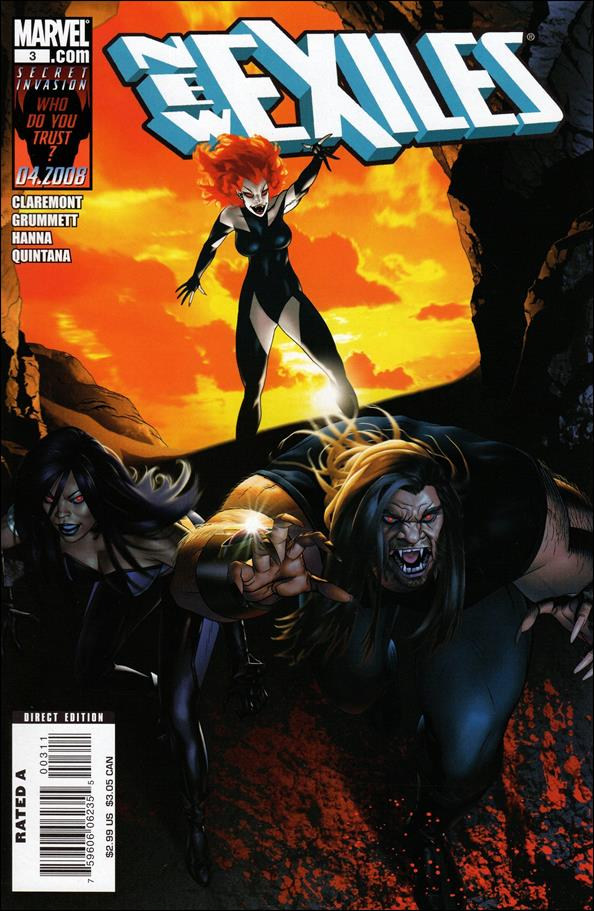 New Exiles 3-A by Marvel