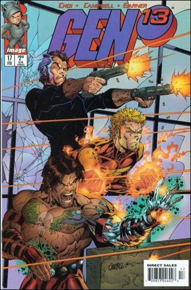 Gen13 (1995) 17-A by WildStorm