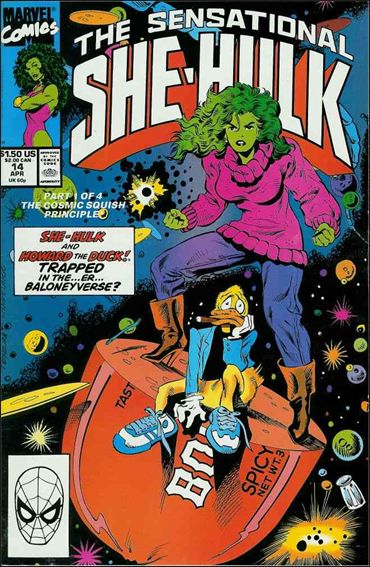 Sensational She-Hulk 14-A by Marvel