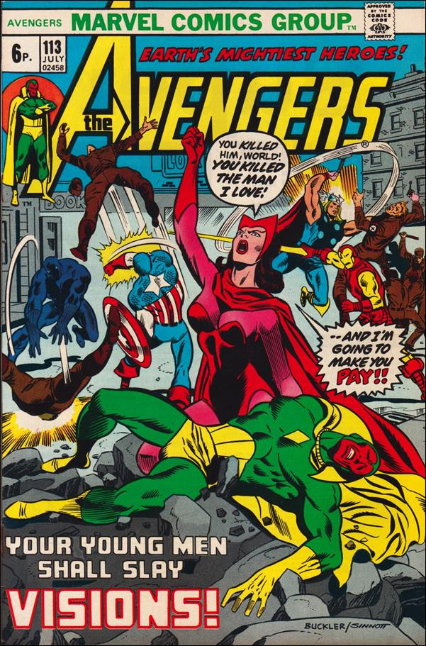 Avengers (1963) 113-B by Marvel
