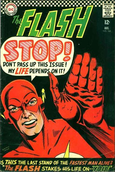 Flash (1959) 163-A by DC