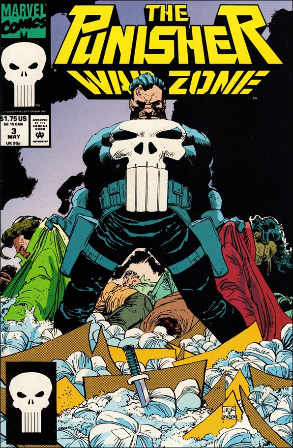 Punisher: War Zone (1992) 3-A by Marvel