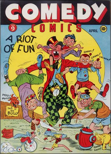 Comedy Comics (1942) 9-A by Timely