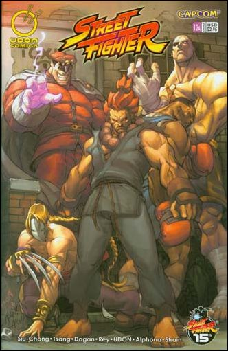 Street Fighter (2003) 12-A by Udon
