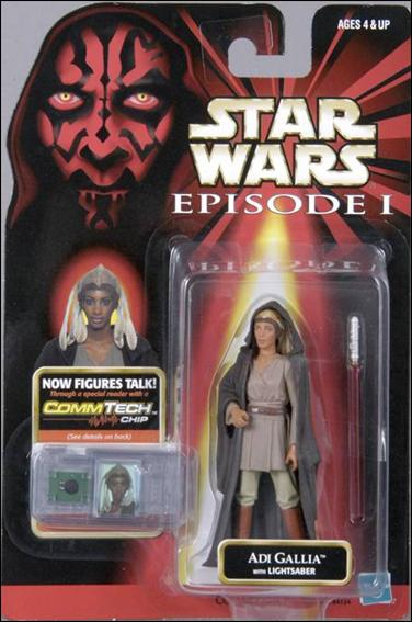 "Star Wars: Episode I 3 3/4"" Basic Action Figures Adi Gallia by Hasbro"