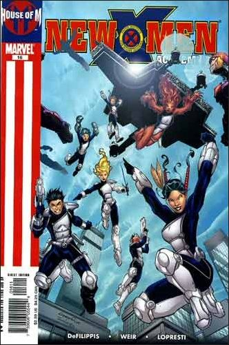 New X-Men: Academy X 16-A by Marvel