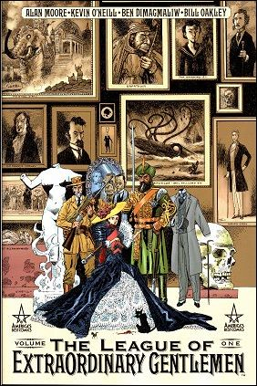 League of Extraordinary Gentlemen 1-A by America's Best Comics