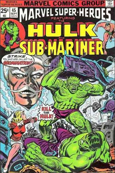 Marvel Super-Heroes (1967) 45-A by Marvel