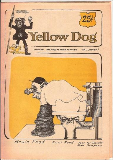 Yellow Dog 5-A by Print Mint