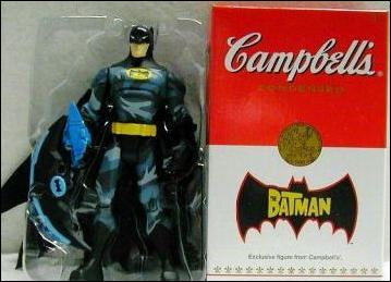 Batman (Exclusives) Batman Camo (Campbell's Exclusive) by Mattel