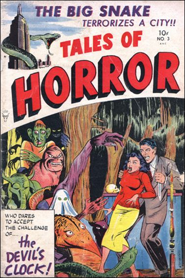 Tales of Horror 3-A by Toby Press Inc.