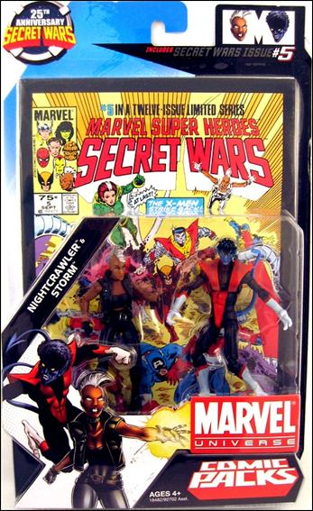 Marvel Universe: Secret Wars (Comic-Packs) Nightcrawler and Storm by Hasbro