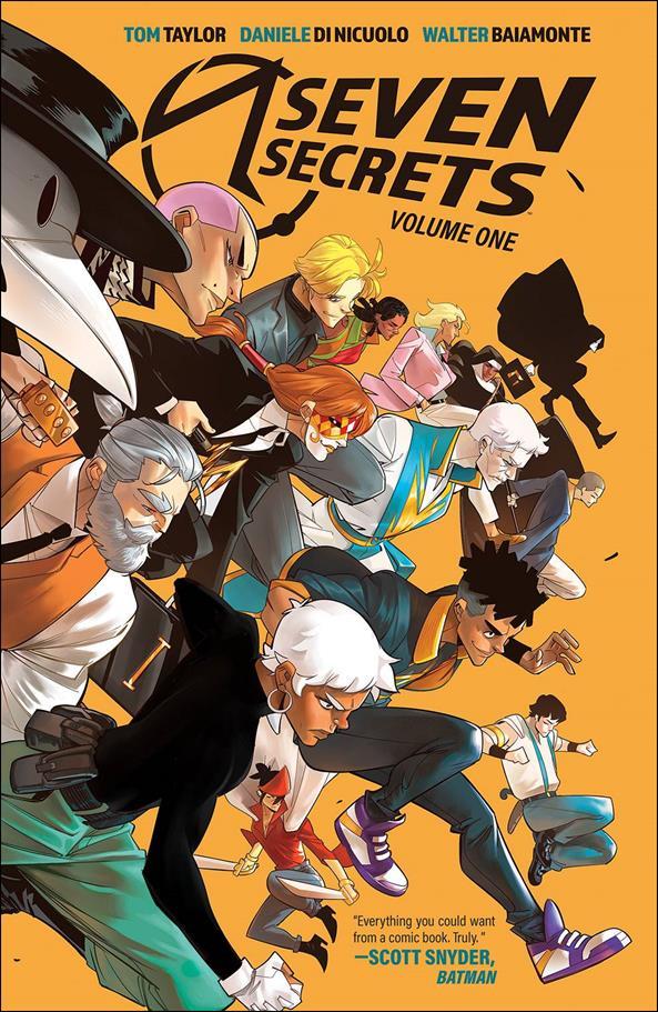 Seven Secrets 1-A by Boom! Studios