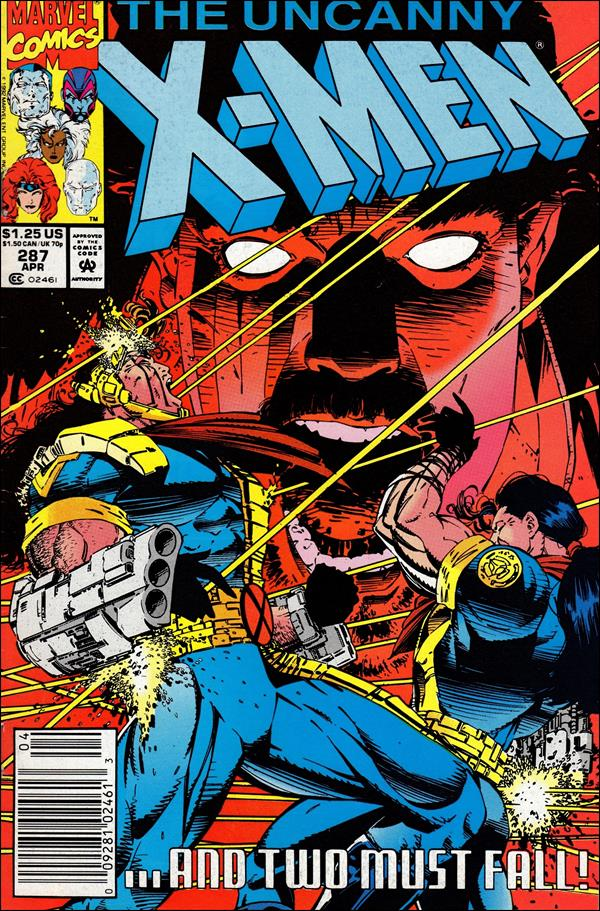 Uncanny X-Men (1981) 287-A by Marvel