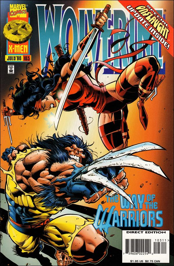 Wolverine (1988)  103-A by Marvel