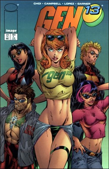 Gen13 (1995) 12-A by WildStorm
