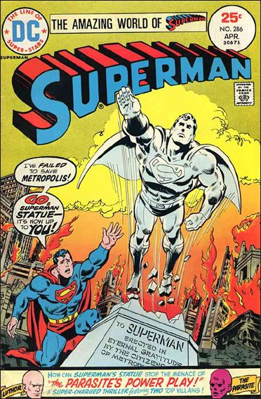 Superman (1939) 286-A by DC