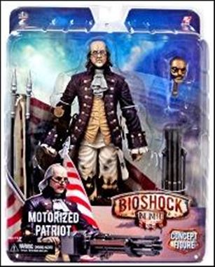 Bioshock Infinite Motorized Patroit (Benjamin Fanklin)