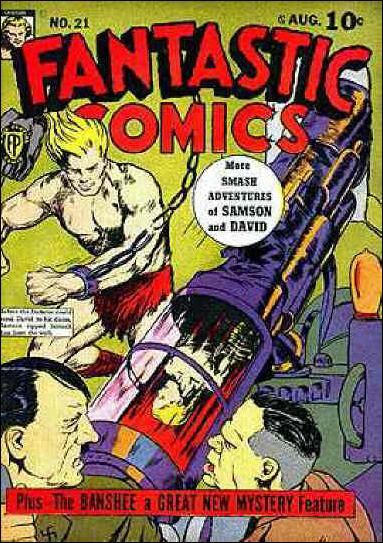 Fantastic Comics (1939) 21-A by Fox