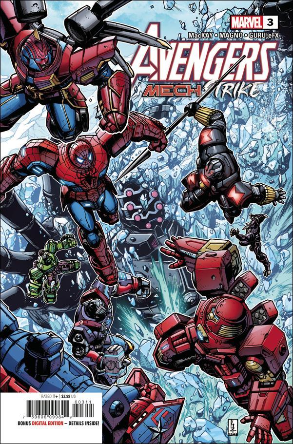 Avengers Mech Strike 3-A by Marvel