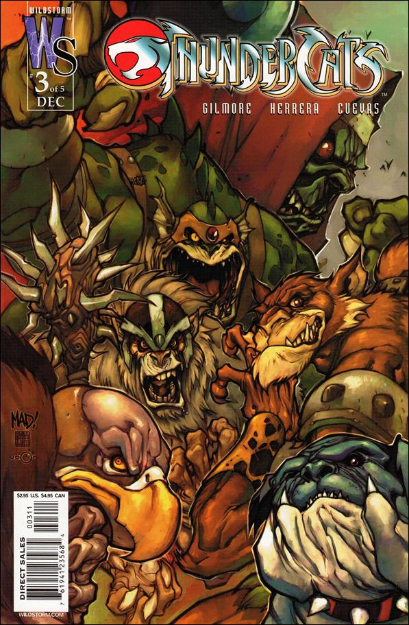 ThunderCats (2002) 3-B by WildStorm
