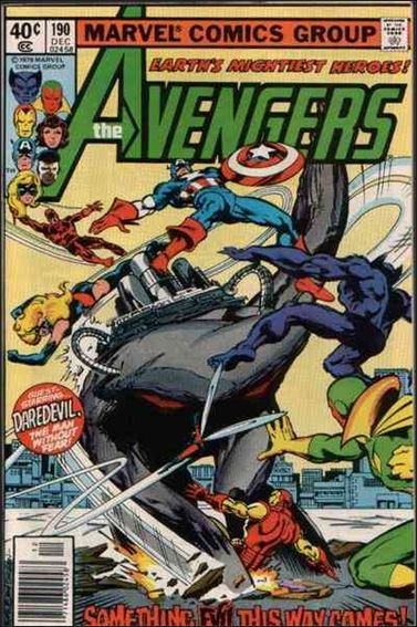 Avengers (1963) 190-A by Marvel