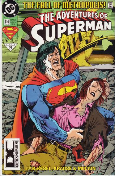 Adventures of Superman (1987) 514-B by DC