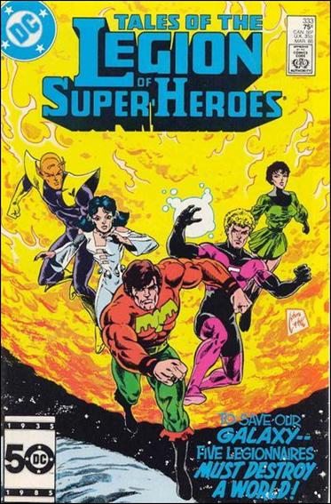 Tales of the Legion of Super-Heroes 333-A by DC