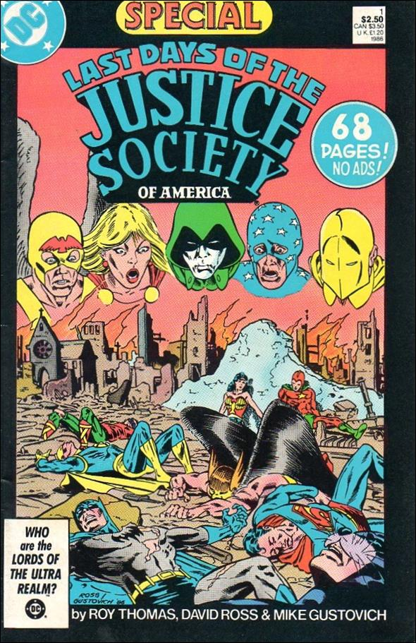 Last Days of the Justice Society Special 1-A by DC