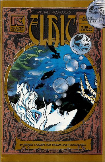 Elric of Melnibone 3-A by Pacific Comics