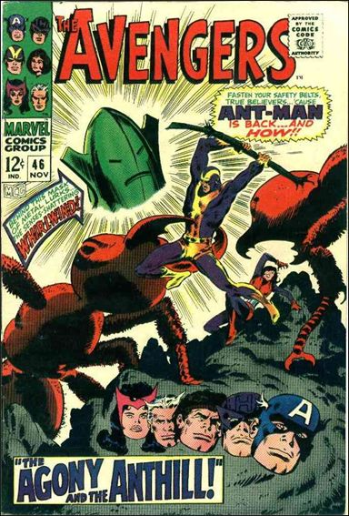 Avengers (1963) 46-A by Marvel