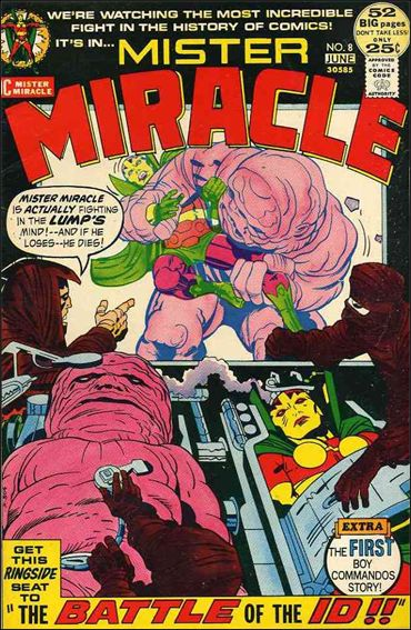 Mister Miracle (1971) 8-A by DC