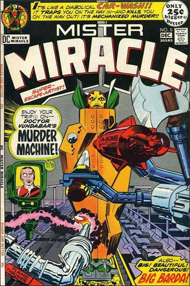 Mister Miracle (1971) 5-A by DC