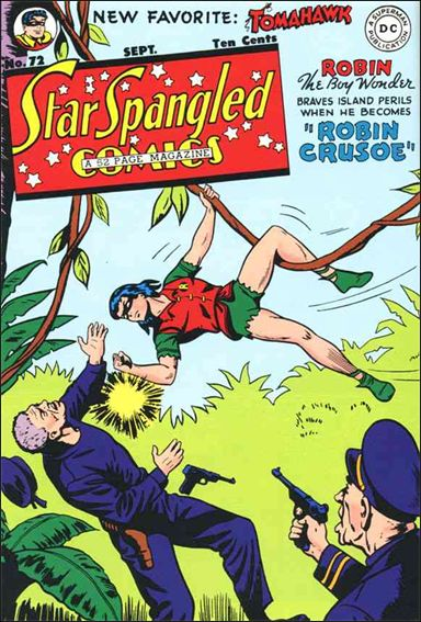 Star Spangled Comics (1941) 72-A by DC