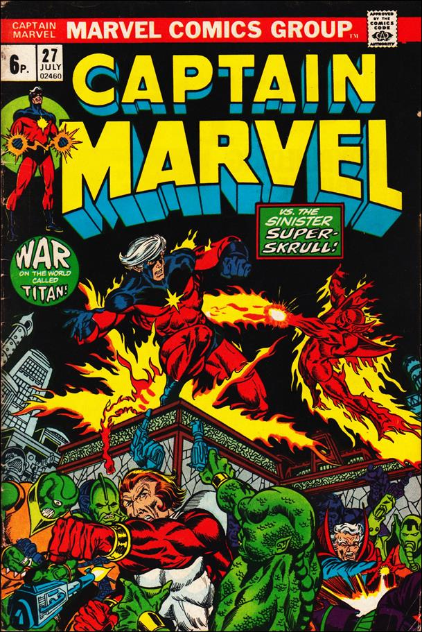 Captain Marvel (1968) 27-B by Marvel