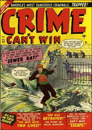 Crime Can't Win 2-A by Marvel