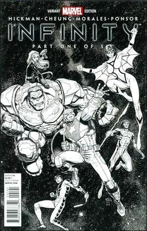 Infinity 1-E by Marvel